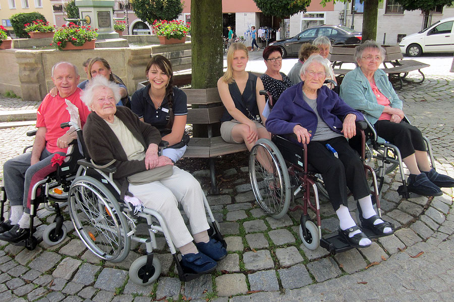 Freizeit mit Senioren