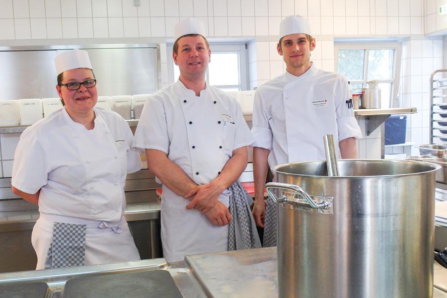 Küchenteam BRK Seniorenheim Bad Kötzting 2019